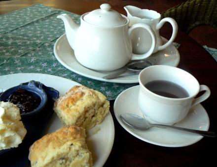 Lavender Tea and Scones