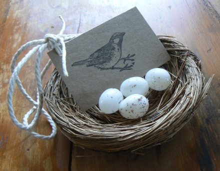 Bird Nest Gift
