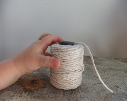 Cotton Twine One Baby Hand