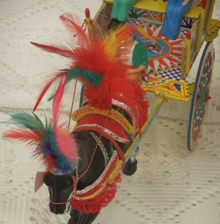 Festa Italia Hobart Horse Display