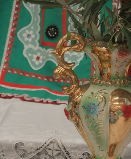 Festa Italia Hobart Lace and Vase