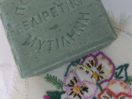 Luxury Bath Soap Close Up