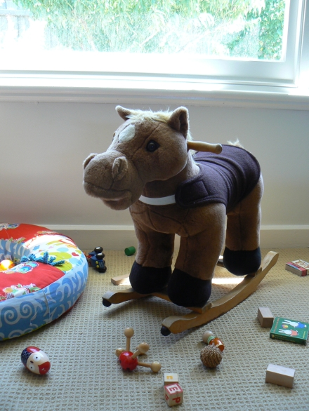 Rocking Horse Before