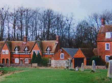 Avebury UK Town Buildings