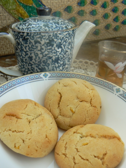 Biscuits Tea Service Before