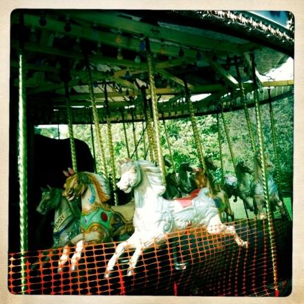 Carousel Vintage Ride Merrygoround Horse
