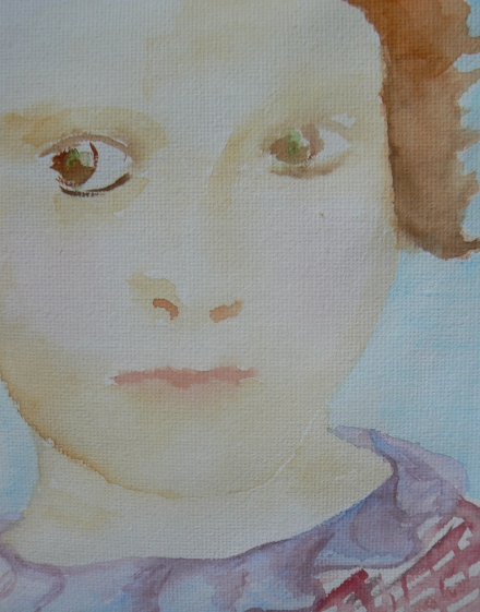 Conscience Thoughtful Girl Detail