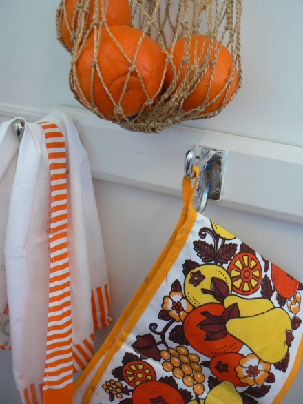 Oranges String Bag Retro Vintage Pot Holder