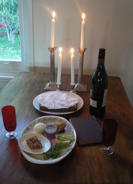 Pesach Passover Seder for Two