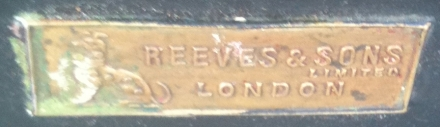 Reeves and Son London Artist Box Badge