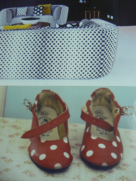 Spots Polka Dots Red Shoes Missoni