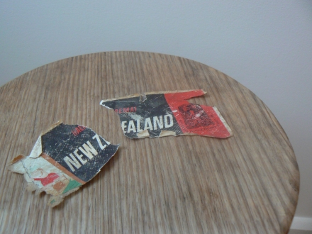 Stuck New Zealand Vintage Suitcase Sticker