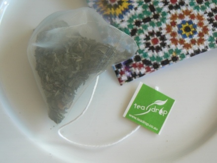 Tea Drop Pyramid Bag Moroccan Mint