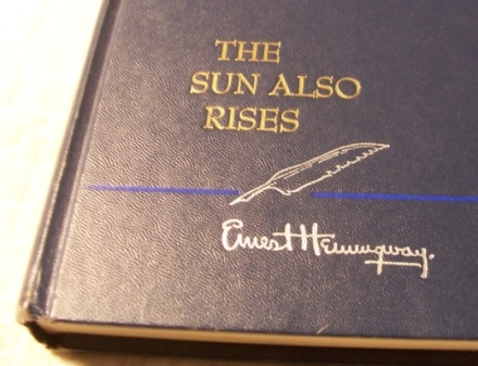 The Sun Also Rises HemingwayCover