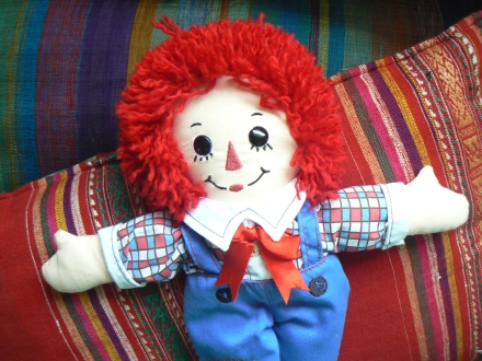 Awesome Facts Natural Redhead Raggedy Andy Doll
