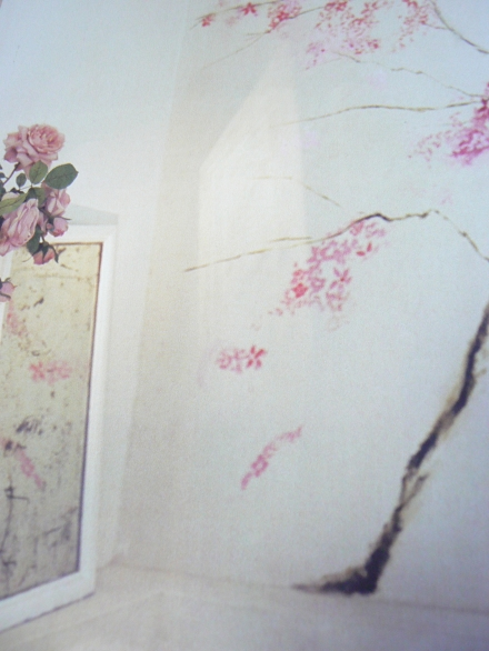Great Walls Carolyn Quartermaine Flower Trompe Loeil Mural