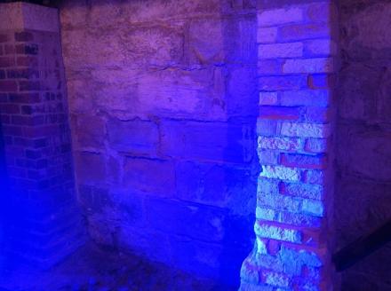 Great Walls Tasmanian Art Gallery Museum Cellar Basement Bricks
