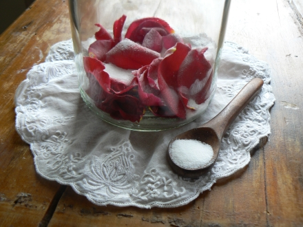 Gulkand Rose Petal Indian Jam Jar Recipe