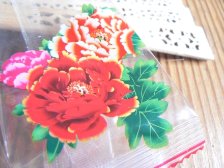 Letting Got Detail China Wooden Carved Fan Elegant Flower Wrapper