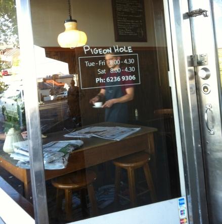 Pigeon Hole Hobart Cafe Bakery Tea