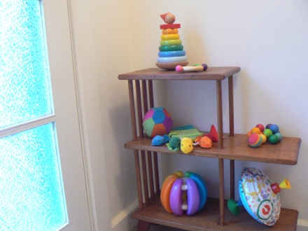 Rainbow Toys Spinning Top Stacker Balls Baby Toddler