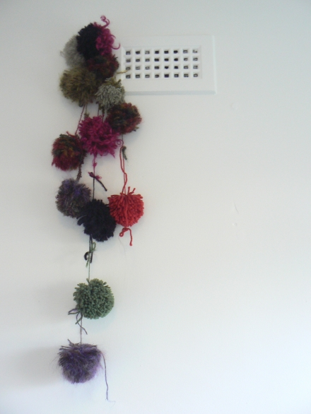 Wild Things Furry Home Made Pom Poms