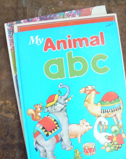 Wild Things Vintage Animal ABC Book