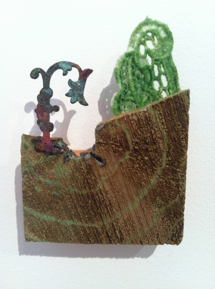 Art Collection Collected Pieces found objects sculpture Irene Briant Bett Gallery Hobart