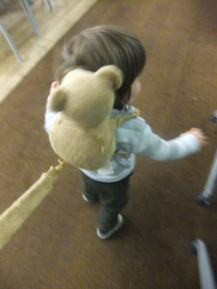 Exercise Restraint Toddler Harness Teddy Airport Travel Child