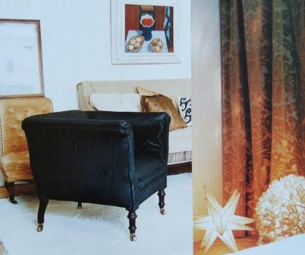 Gold Decor Velvet Chair Cushion Brocade Curtain Moroccan Star Lamp