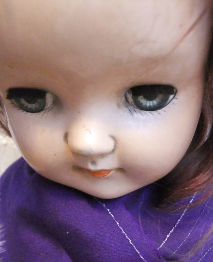 Ningyo Kuyo Antique Doll Face Kimono