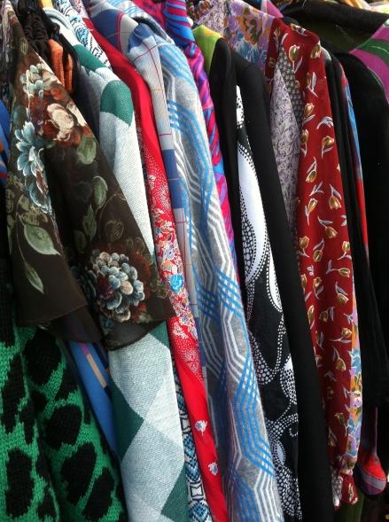 Out About Autumn Hobart Salamanca Market Vintage Secondhand Clothing