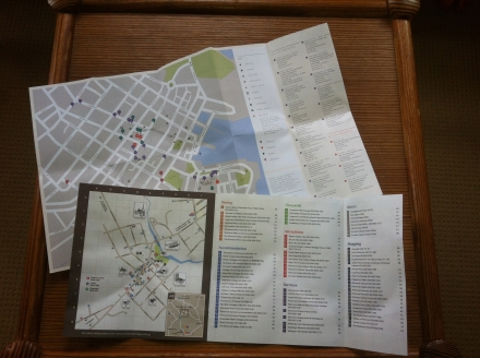 Travel at Home Many Cha Cha Own Town Local Map