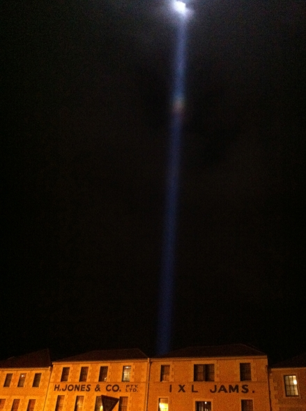 Dark Mofo O-Night Beam in Thine Own Eye Ryoji Ikeda