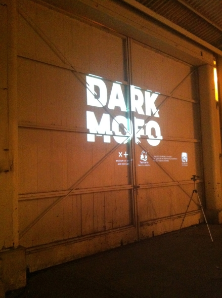 Dark Mofo O-Night Opening Launch Logo Mac 1