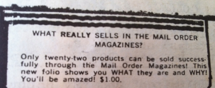Olden Days Pre Internet What Really Sells Mail Order Magazines