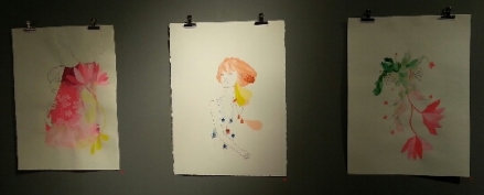 Pretty Kat Mcleod Beci Orpin Art Collaboration
