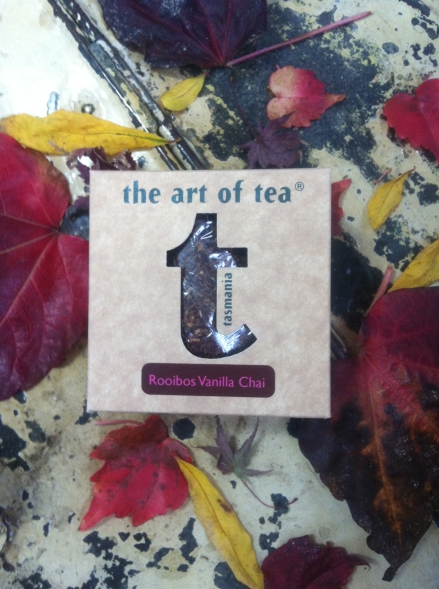 Rooibos Vanilla Chai Autumn Fall Leaves Art of Tea Tasmania