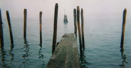 Venice Venezia Lagoon Ponte Dock Gondola Boat