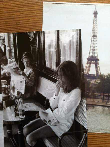 Chic Paris Women Henri Cartier Bresson Eiffel Tower Tour