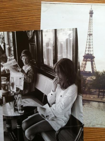 Chic Paris Women Henri Cartier Bresson Eiffel Tower Tour