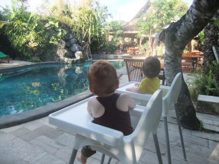 Baby Travel Twins Babies Children Holiday Pool Vacation Tips Ideas Many Cha Cha