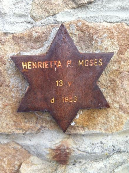 Cycle Life Henrietta Moses Tasmania Jewish Cemetery