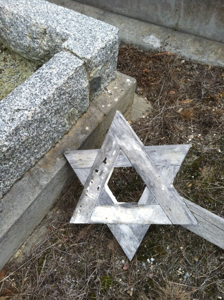 Cycle Life Hobart Cemetery Magen David Head Stone Jewish