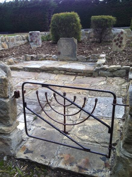 Cycle Life Jewish Cemetery Garden Menorah Gate Garden Hobart