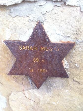 Cycle Life Sarah Moses Jewish Settler Tasmania Cemetery Hobart