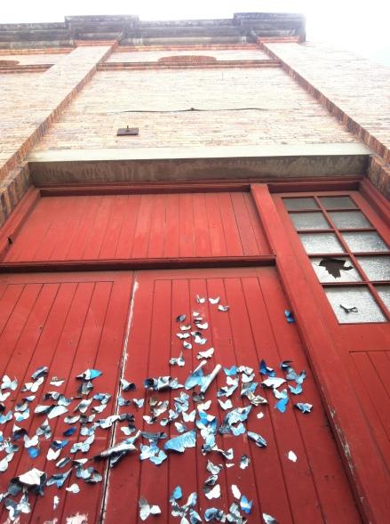 Leftovers Launceston Butterflies Mural Street Art