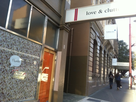 Love and Clutter Store Hobart Shop Closed Thanks