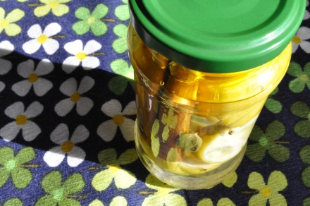 Morocco Preserved Lemons Jar Salt Pickle