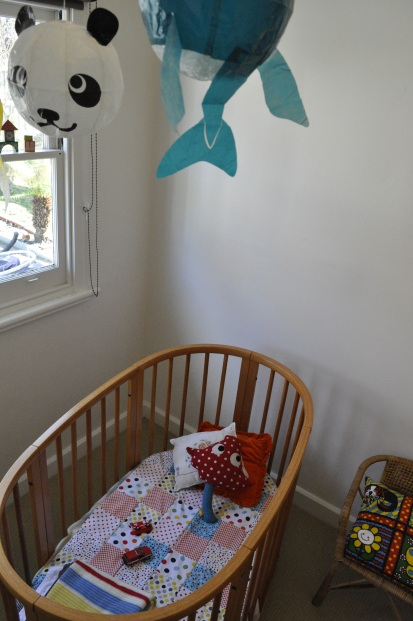 DIY Spot Quilt Japanese Balloons Baby Bedroom